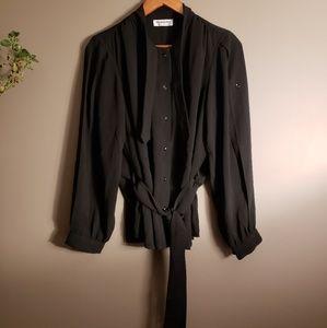 Yves Saint Laurent Vintage Uniform Blouse